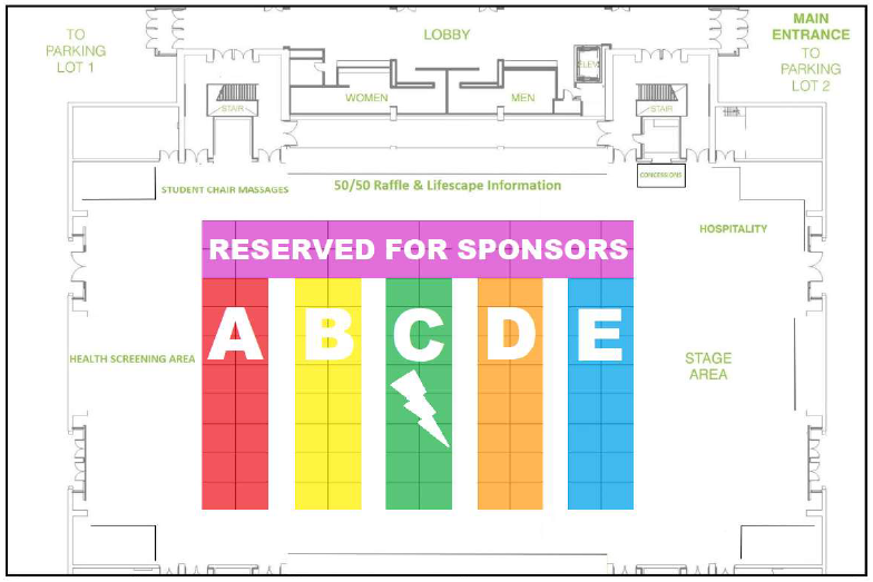Senior EXPO Floor Plan