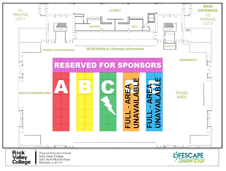 Senior EXPO Floor Plan